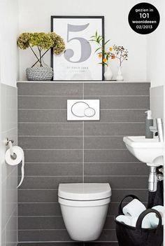 inrichting wc. Black Bedroom Furniture Sets. Home Design Ideas