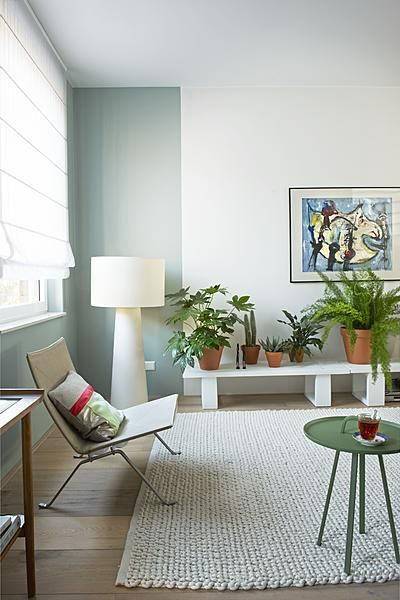 Groene muur inspiratie tips 2017 - Welke kleur verf voor een kamer ...