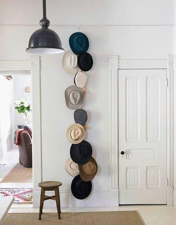 Opbergen hoeden