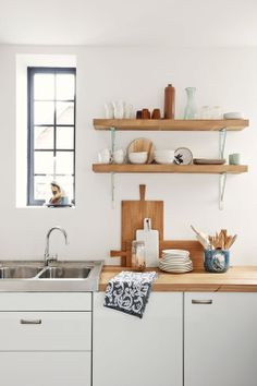 Servies planken keuken
