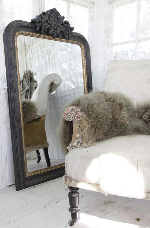Oude Badkamer Spiegels ~ Vintage spiegels voorbeelden  Interieur Insider