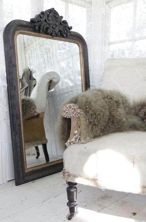 vintage spiegels voorbeelden interieur insider. Black Bedroom Furniture Sets. Home Design Ideas