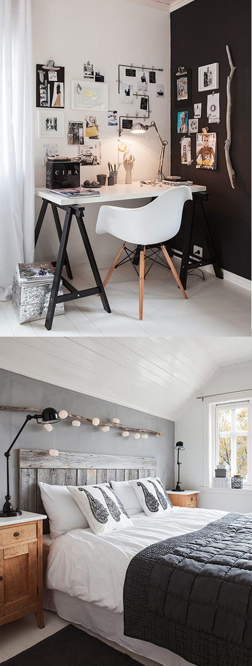 Zwart met wit interieur voorbeelden interieur insider for Interieur zwart wit