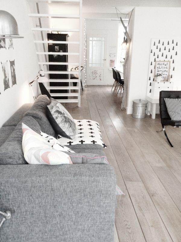 Zwart met wit interieur voorbeelden