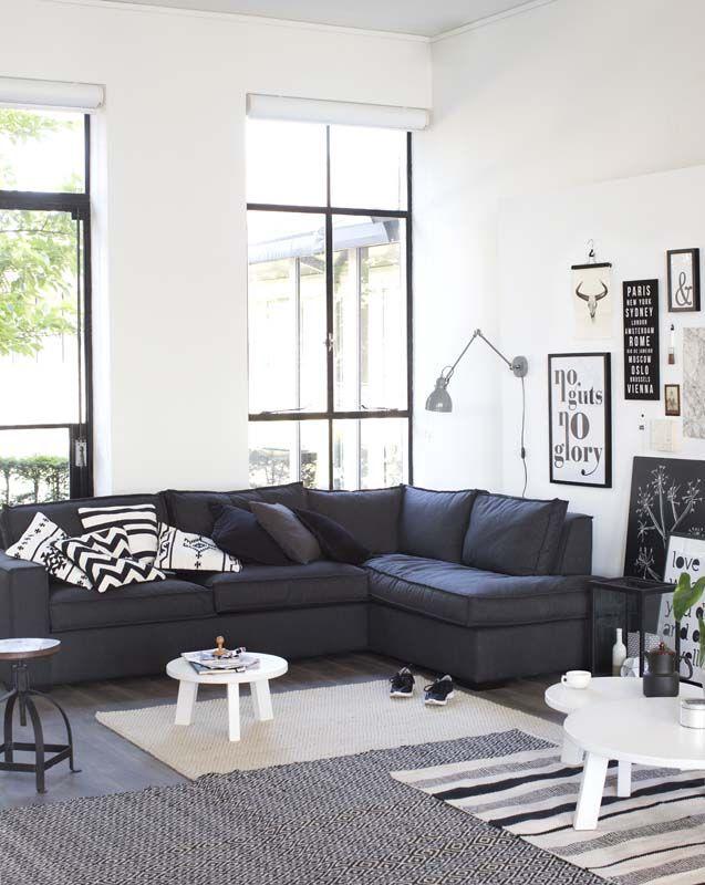 Interieur Ideeen Wit.Zwart Met Wit Interieur Voorbeelden Interiorinsider Nl