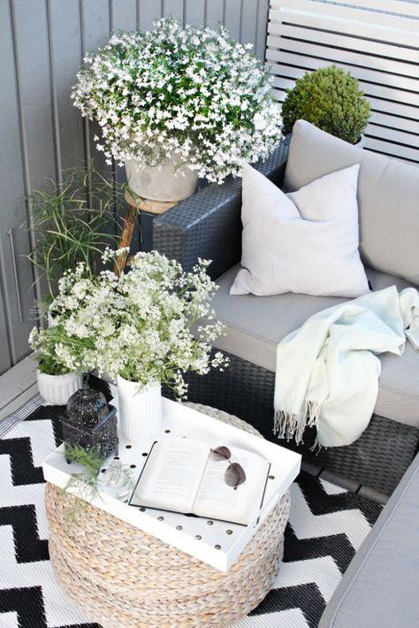 Aankleding en decoratie balkon - Interieur Insider