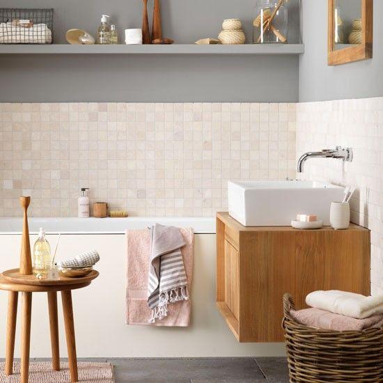 Gezellige badkamer