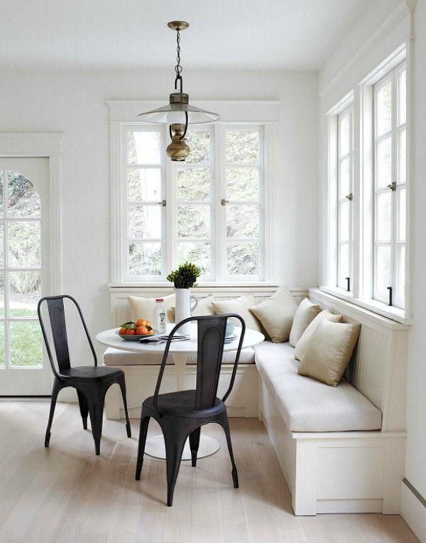 Keuken Met Erker : Kitchen Corner Banquette
