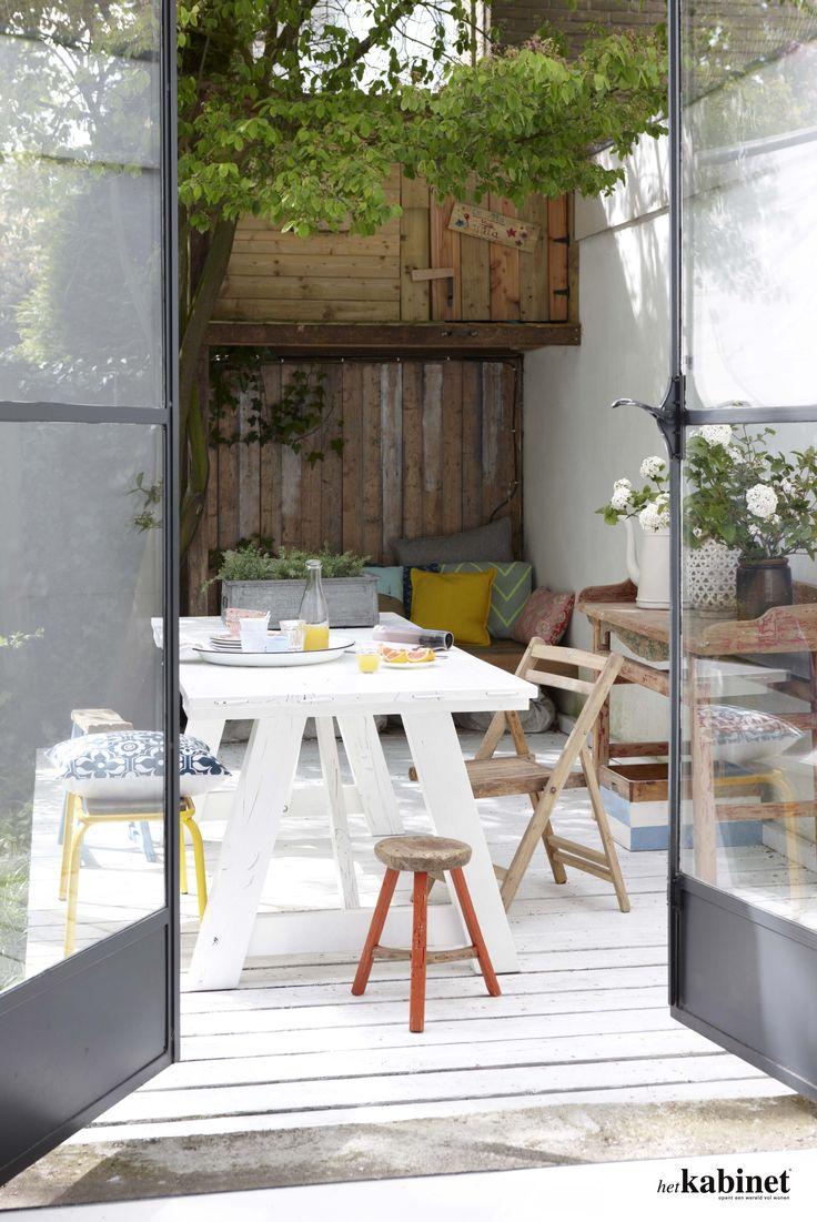 deuren naar tuin
