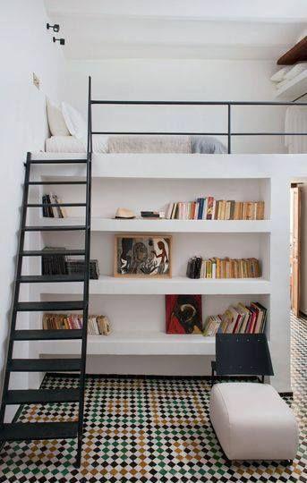 Gezellige hoogslapers interieur insider for Slaapkamer decoratie voor volwassenen
