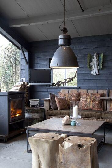 Voordelen van een tuinhuisje interieur insider - Interieur van een veranda ...
