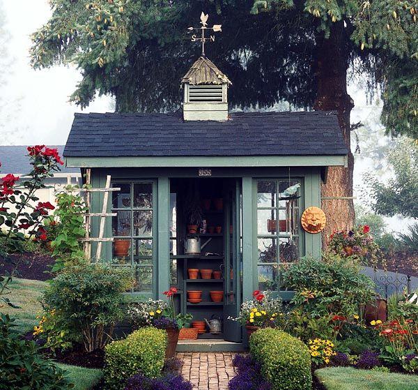 Voordelen van een tuinhuisje
