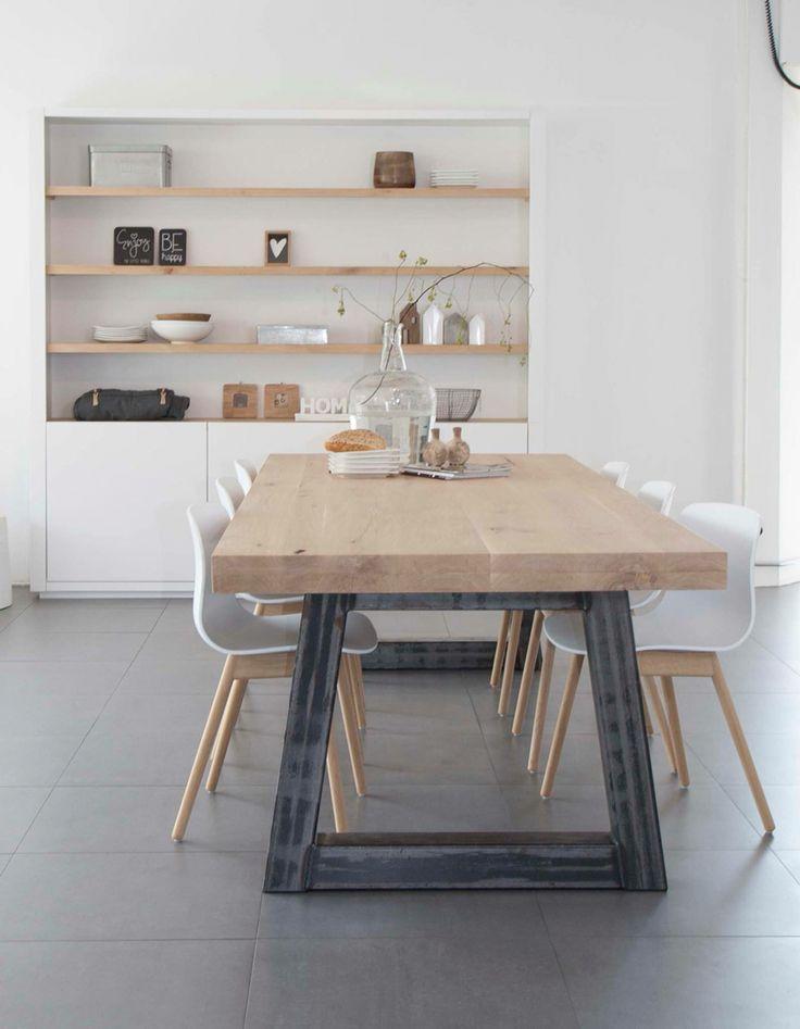Hoekje voor koffie en thee interieur insider for Mesas de salon de madera