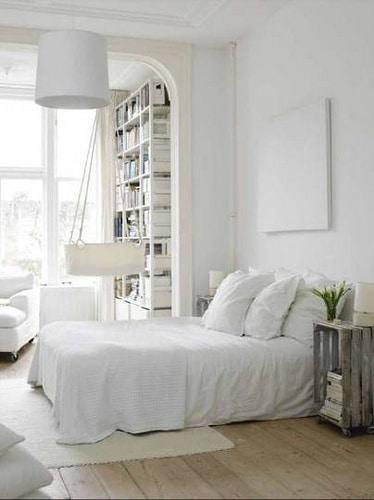 Vloer in slaapkamer