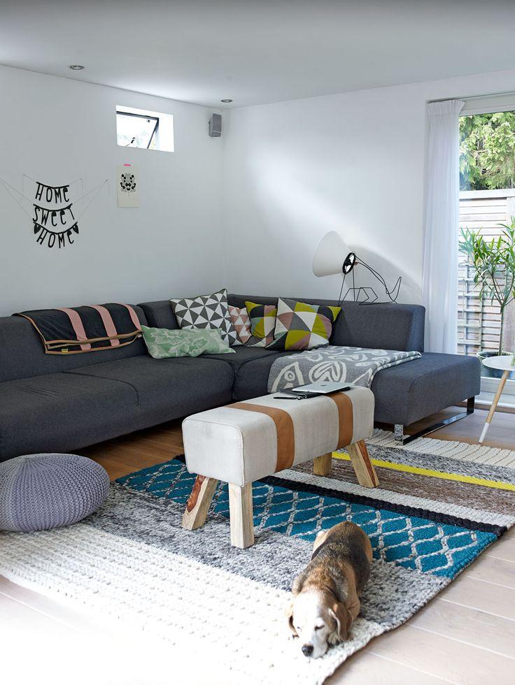 Vloerkleed met print — InteriorInsider.nl