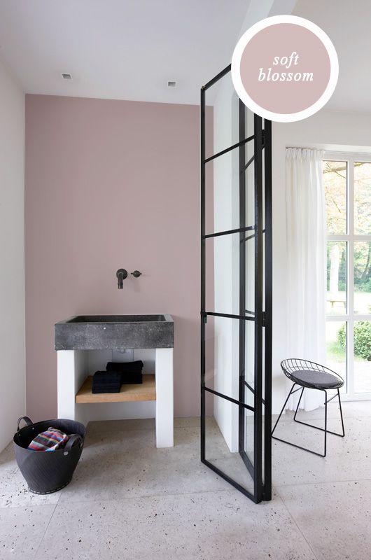 Frisse kleuren badkamer interieur insider for Interieur kleuren 2015