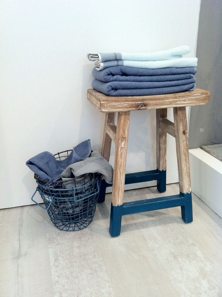 Frisse kleuren badkamer - Badkamer blauw ...