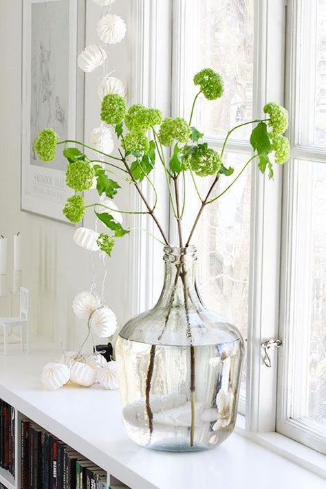 Bloemen in huis - Huis van de wereld vaas ...