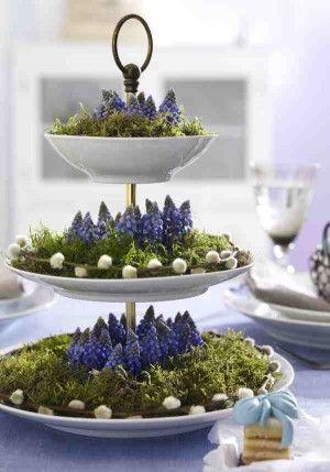 Decoratie met bloemen interieur insider - Idee decoratie terras ...