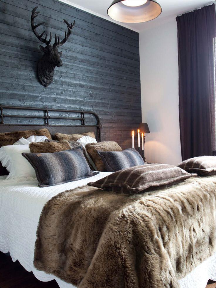 donkere gordijnen in slaapkamer - interieur insider, Deco ideeën