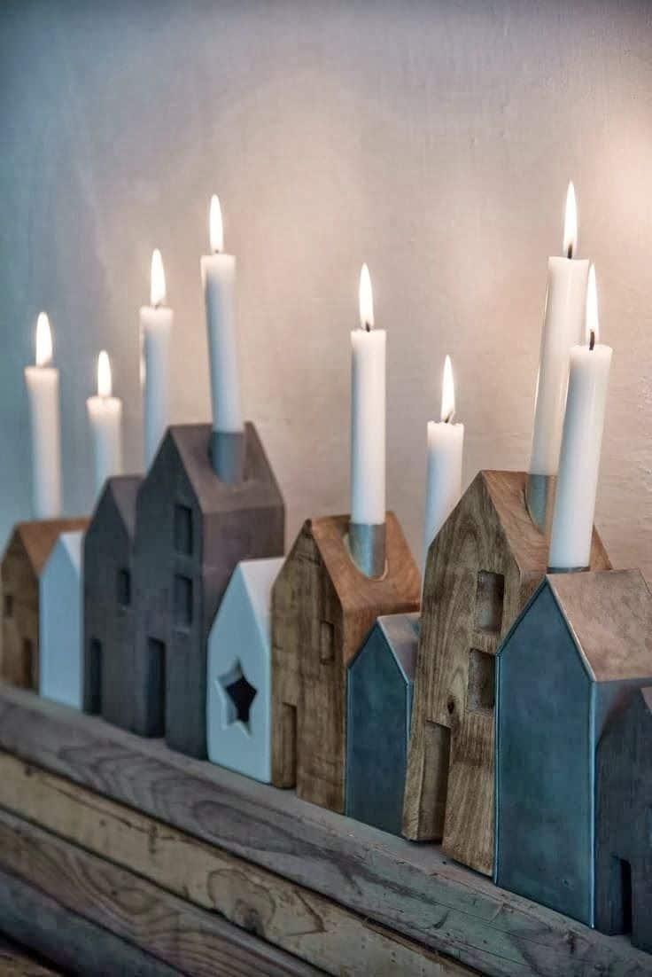 Gezelligheid met kaarsen