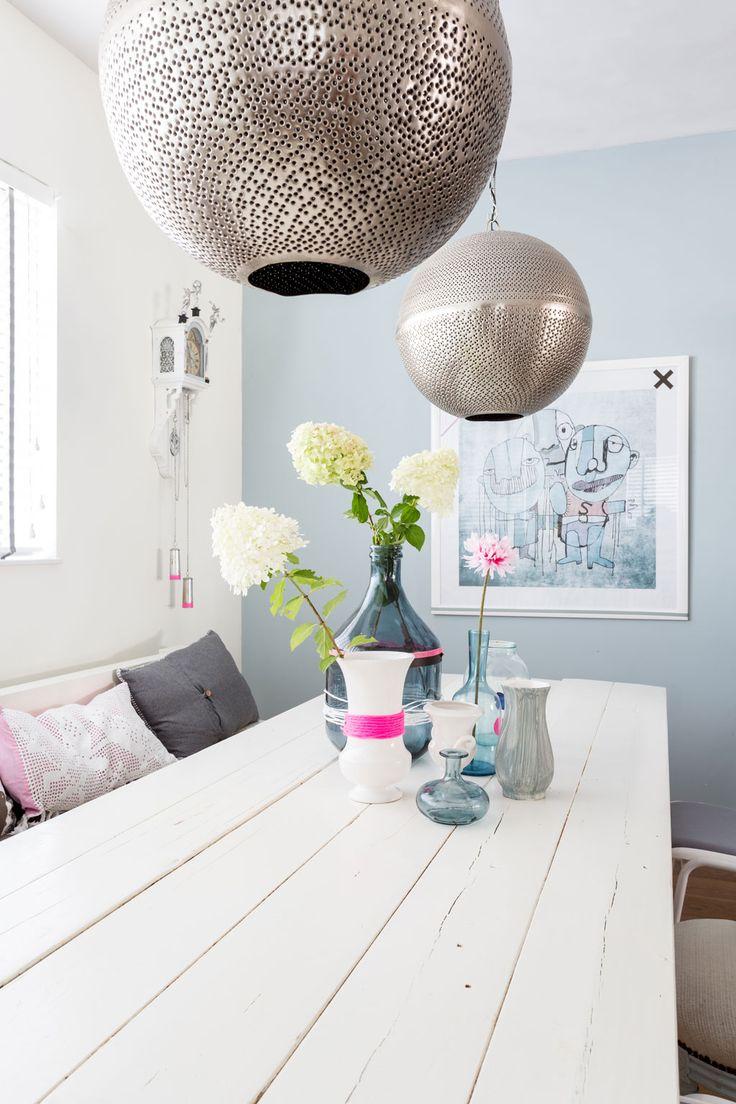 Lampen boven eettafel — InteriorInsider.nl