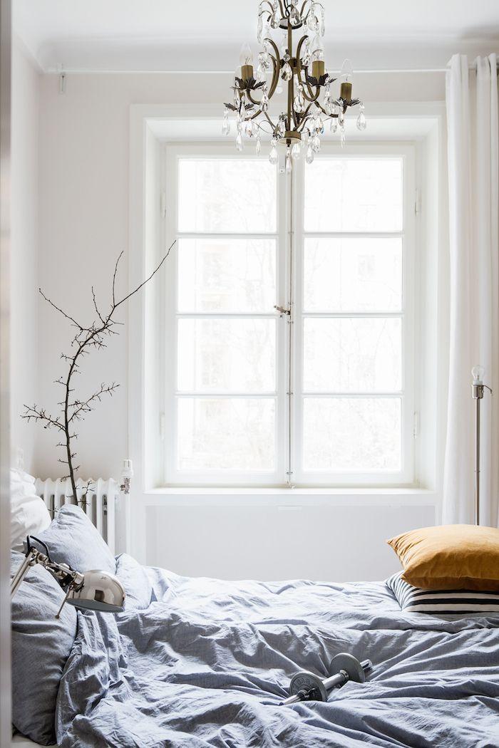 Lichte gordijnen slaapkamer   Interieur Insider