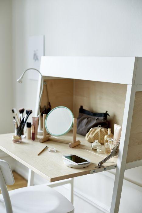 Make up tafels voorbeelden interieur insider - Ikea accessoires bureau ...