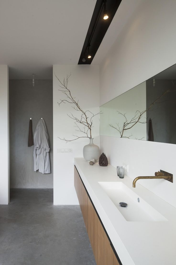 Spiegel in de badkamer for Best bathrooms pinterest