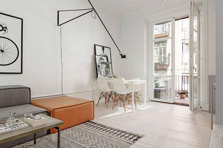 Inrichting klein appartementje interieur insider - Klein interieur ruimte ...