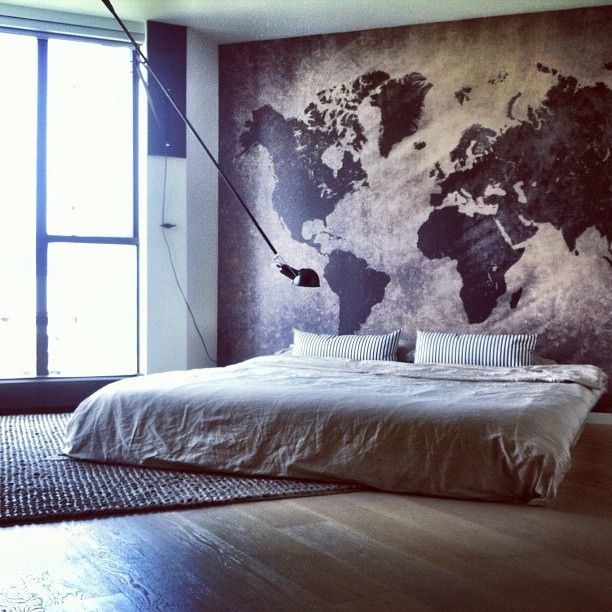 Vloerkleed op slaapkamer