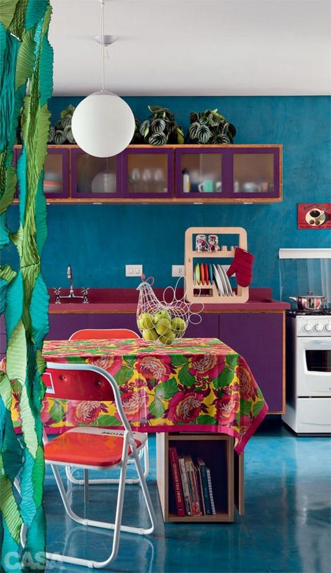 Interieur met veel kleuren for Interieur 05 nl