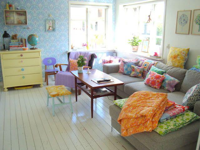 Kleur Veel Kleur : Interieur met veel kleuren u interiorinsider
