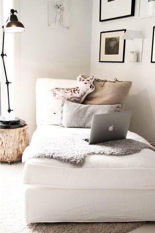 Chaise longue in woonkamer of slaapkamer