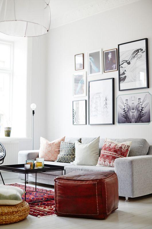 Schilderijen in huis combineren — InteriorInsider.nl