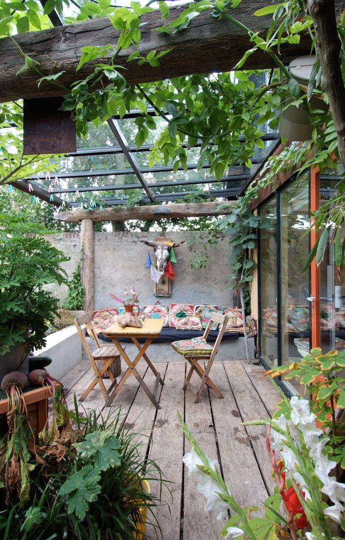 Veranda inrichten interieur insider - Decoratie jardin terras ...