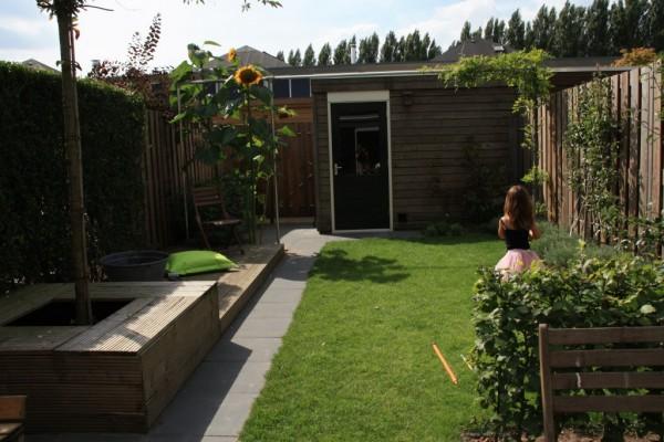 tuinidee kleine tuin