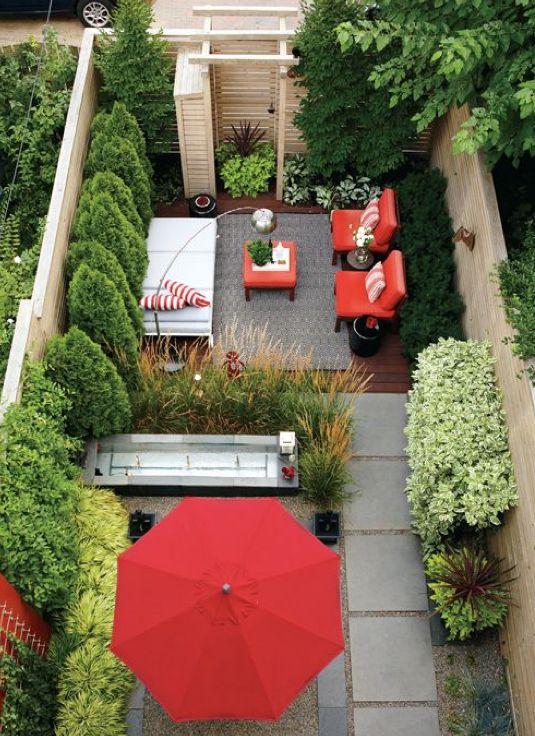 tuinvoorbeelden kleine tuin