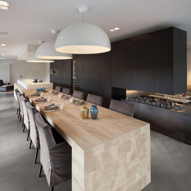 Design keukens interieur insider - Tafel design keuken ...