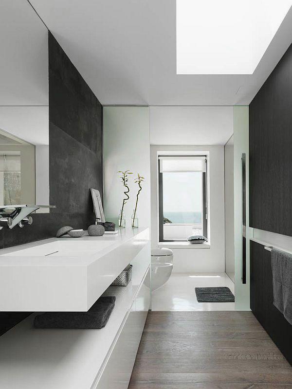 Moderne badkamer interieur insider - Badkamers bassin italiaanse design ...