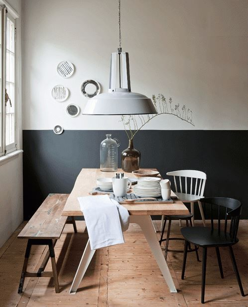 Eettafel met verschillende stoelen interieur insider for Eettafel en stoelen