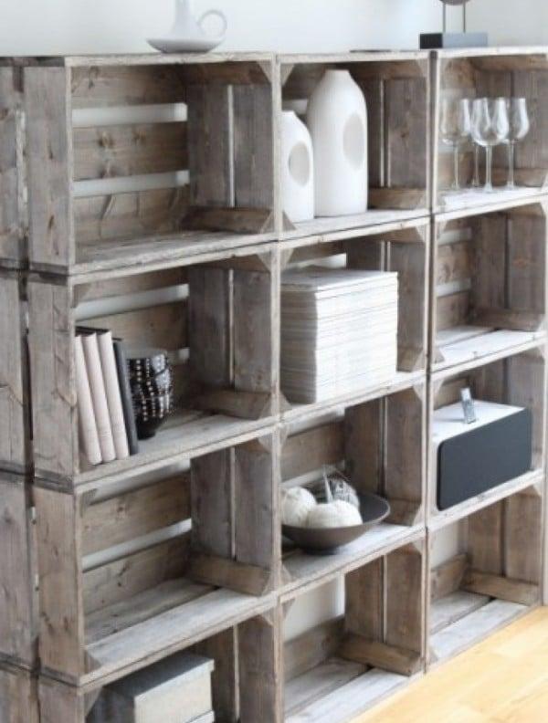 Keuken Steigerhout Zelf Maken : Zelf boekenkast maken – Interieur Insider