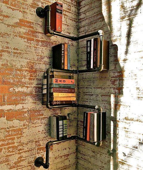 steigerbuis boekenplank