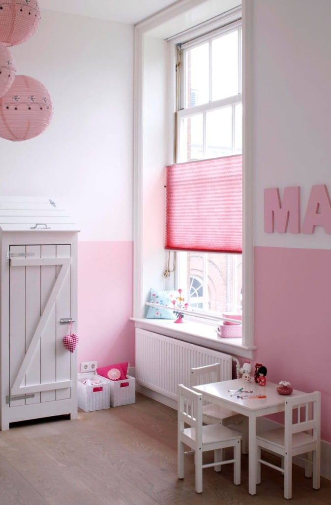 Behang Kinderkamer Inrichten : Meisjeskamer inrichten interieur ...
