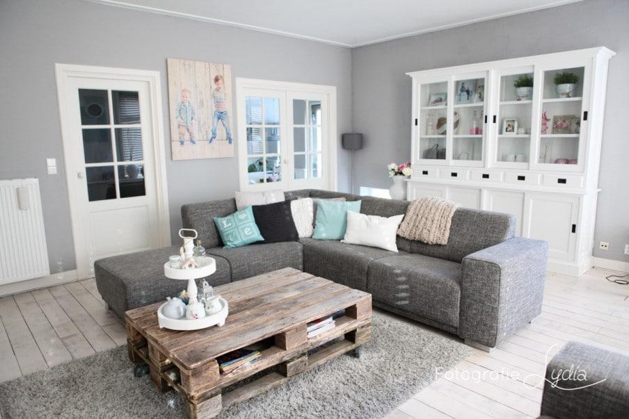 Brocante woonkamer - Salon decoratie ideeen ...
