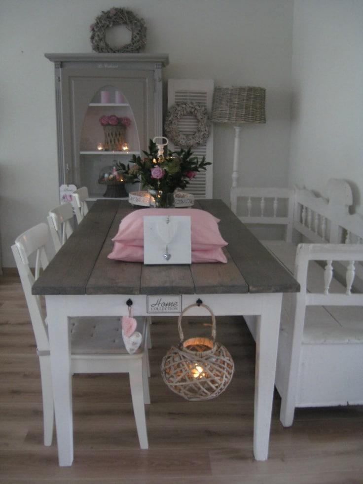 Brocante woonkamer — InteriorInsider.nl