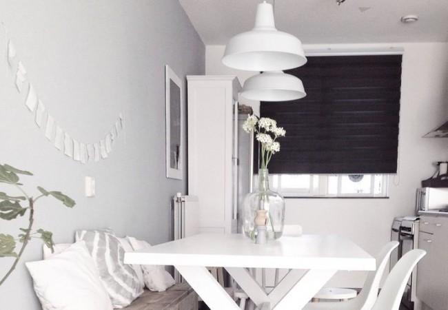 Kleden in woonkamer interieur insider for Landelijke lampen
