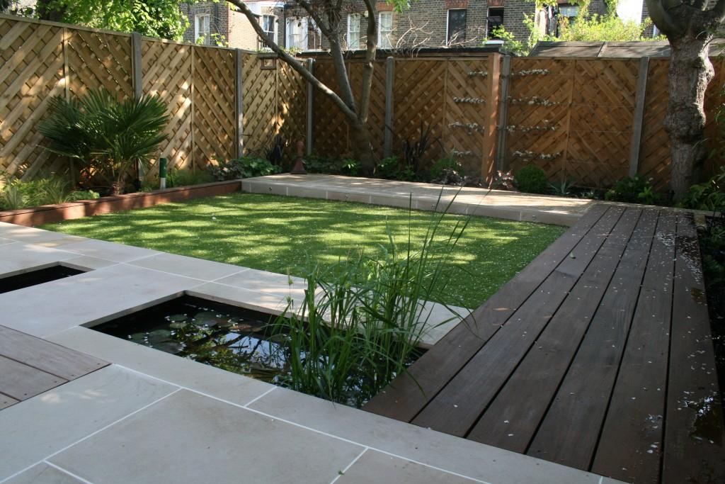 strakke moderne tuinen voorbeelden