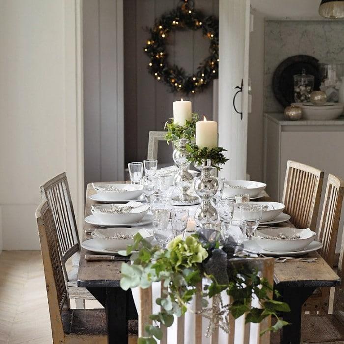 Tafeldecoratie Voor Kerst En Nieuwjaar Interieur Insider
