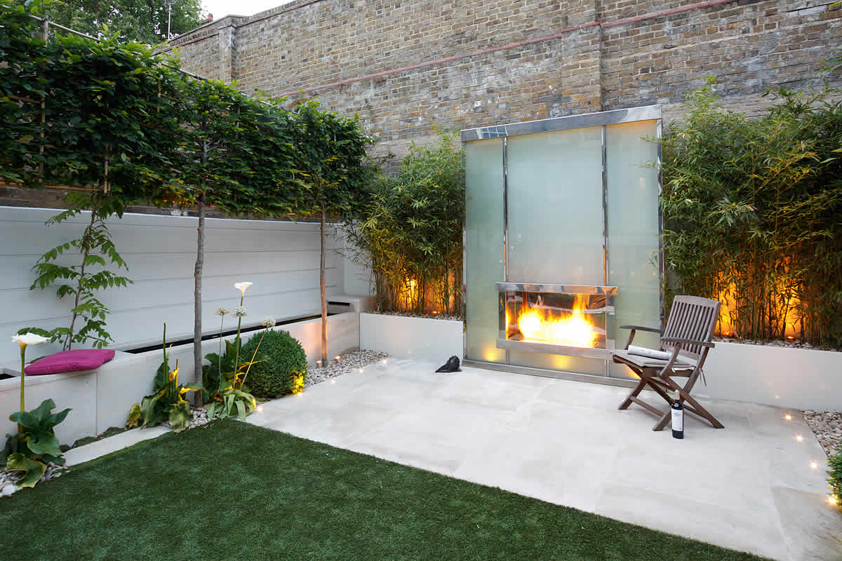 Strakke tuinen voorbeelden interieur insider - Landscape design for small spaces style ...